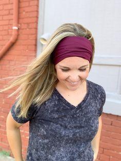 Tie Headband, Turban Headbands, Knitted Headband, Headbands For Women, Top Knot, Head Wraps, Color Patterns, Cute, Flora