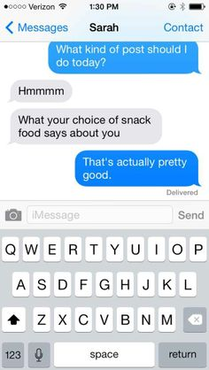 And this mom should be friends with her.   We Asked Our Moms For BuzzFeed Post Ideas