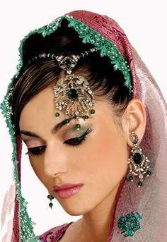 Beautiful Indian Bridal Dress Makeup Pictures Wedding Bride Images Hi5 Ibibo » Headser Quotes