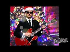 "▶ ""PRETTY PAPER"" - Roy Orbison (Original version) - YouTube- I'll admit, blue ribbons don't seem so Christmas-y to me."