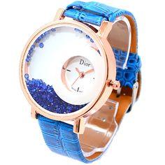 Đồng hồ nữ dây da TIGER 8860 (Xanh) - Giá 159.000đ