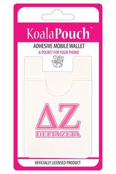 Delta Zeta Sorority Koala Pouch - Brothers and Sisters' Greek Store