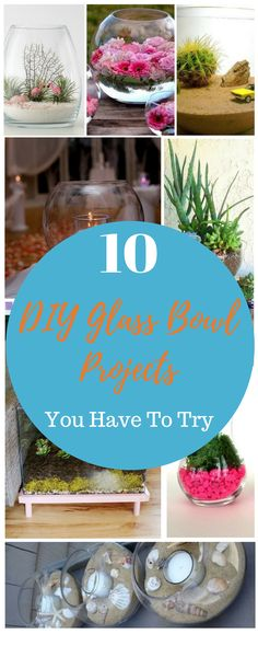 10 DIY Glass Bowl Projects You Have To Try Fun Diy Crafts, Homemade Crafts, Diy Projects To Try, Crafts To Sell, Craft Projects, Project Ideas, Potpourri Recipes, Punch Bowls, Affordable Home Decor