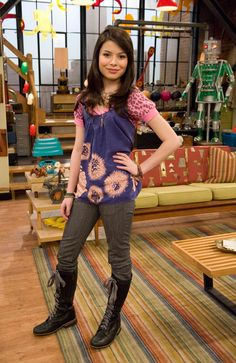 Miranda Cosgrove of ICarly and Drake and Josh. Description from pinterest.com. I searched for this on bing.com/images