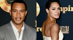 April 17, 2016 - Empire TV Stars Grace Gealy (Anika Calhoun) and Trai Byers (Andre Lyon) had a private wedding ceremony in the Grand Cayman Islands. Attendees their closest friends, family members joined the celebration with dancing, lobster, steak at the reception. No other cast members from Empire attended the wedding. Congratulations! Although in the Empire TV Series they play rivals, Andre son of Lucious Lyon, and Anika ex-fiancee to Lucious Lyon.   entertainment