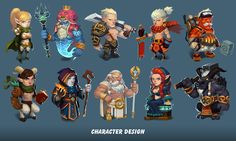 Character design on behance chibi characters, cute characters, fantasy 3d Model Character, Game Character Design, Fantasy Character Design, Character Design References, Character Creation, Character Design Inspiration, Character Concept, Character Art, Chibi Characters