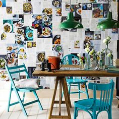 A way to make use of all of those old cooking magazines (thanks Red Mag).