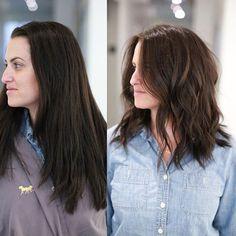 F R E S H. C U T #midlength #haircut #miami #anhcotran