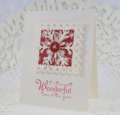 Handmade Greeting Card - Christmas - Peace On Earth