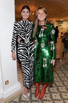 Giovanna Battaglia et Anna Dello Russo
