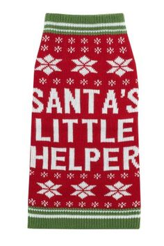 Buy Santa's Little Helper Jumper online today at Next: Belgium Brussels Christmas, Latest Fashion For Women, Mens Fashion, Bed Mats, Pet Accessories, Belgium, Christmas Sweaters, Jumper, Moda Masculina