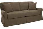 Lee Industries - Slipcovered Apartment Sofa