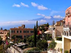 Taormina, Sicily as seen during our visit in October 2013