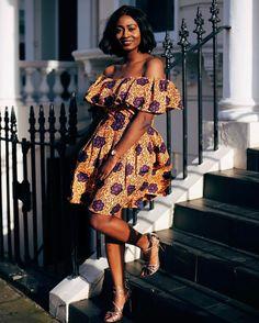 New Bazin Riche African Ruffles Collar Dresses for Women Dashiki Print Pearls Dresses Vestidos Women African Clothing - bari African Fashion Ankara, African Inspired Fashion, African Print Dresses, African Print Fashion, Africa Fashion, African Prints, African Dress Styles, African Fashion Traditional, Short African Dresses