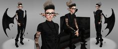 IMVU ~†~ Style to rock ~†~ A customize style of Tboy Fashion :) Gender female. Please click picture for full size :)