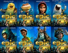 Epic Movie Characters