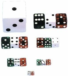 "Dice 1/2 Inch Red Case Pack 5 by WMU. $10.01. Please refer to the title for the exact description of the item. 100% SATISFACTION GUARANTEED. All of the products showcased throughout are 100% Original Brand Names. World's largest selection of quality dice in both color and size."""" Case Pack 5 Please note: If there is a color/size/type option, the option closest to the image will be shipped (Or you may receive a random color/size/type)."