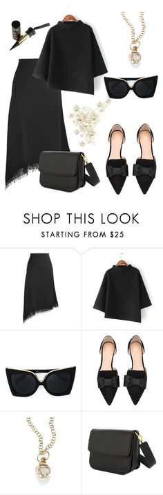 """""""Nice!"""" by gatocat ❤ liked on Polyvore featuring Roland Mouret, N°21, H&M and Temple St. Clair"""