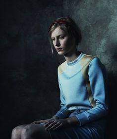 moldavia:    Julia Nobis in AnOther Magazine S/S 2012 by Julia Hetta