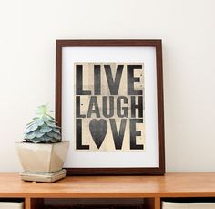 Live+Laugh+Love+Print+8+x+10+by+amycnelson+on+Etsy,+$22.99