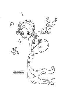 Pin up Mermaid by JadeDragonne on deviantART