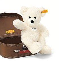 cb4423e1d5 Steiff Lotte Teddy Bear in Suitcase (White)