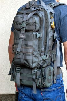 Maxpedition Falcon II and Maxpedition Protus pack.