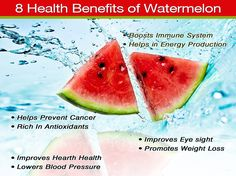Watermelon is one of the best natural remedies known for kidney stones mostly because they contain the highest water content of any food, a rockin' 92% water. #kidneystones