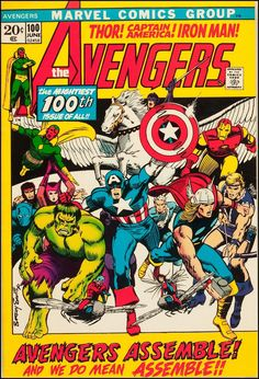 Jack Kirby Avengers | ... the Fourth Be With You--Best Avengers by Jack Kirby and Barry Smith