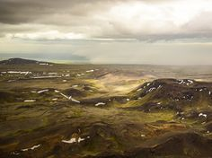 See an aerial view of Iceland's rugged beauty in this National Geographic Photo of the Day.