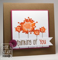 Snappy Stampin' w/ Arielle: THINKING OF YOU / CQC#156...