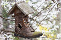 Boot Birdhouse