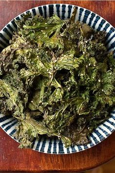 DIY Kale Chips! Plus 10 Flavor Options (use a LOT of kale - these go fast!)