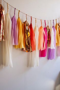 Bohemian Bliss Tassel Garland / Boho Wedding Decor by PaperFoxLA Bachelorette Decorations, Boho Wedding Decorations, Wedding Ideas, Tassel Garland, Tassels, Baby Decor, Baby Shower Decorations, Boho Dekor, Jute Twine