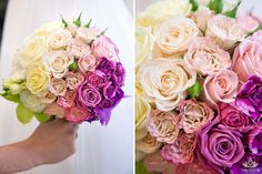 OMBRE wedding flowers! Extraordinary and trendy bouquet
