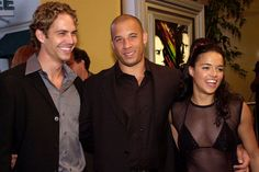 """The Fast and the Furious"" cast members Paul Walker, Vin Diesel and Michelle Rodriguez arrive at the world premiere of the film on June in Los Angeles. The franchise had seven total films. Paul Walker Funeral, Paul Walker Dead, Actor Paul Walker, Cody Walker, Furious Movie, The Furious, Michelle Rodriguez, Vin Diesel, Gal Gadot"