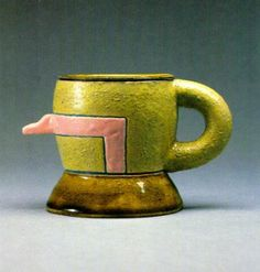 "Ken Price, ""nose cup, late 30's"", 1969"