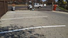 Parking Bay Lines and Numbers
