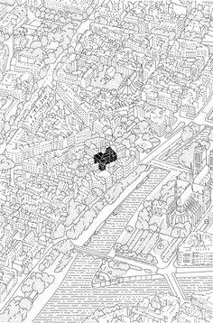 Réinventer Paris : Éva Le roi Paris Map