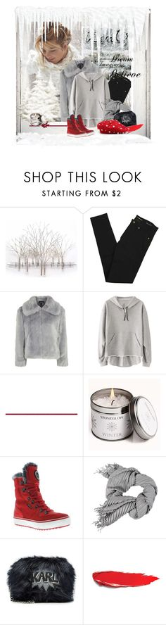"""""""Red Shoes!"""" by schneerose ❤ liked on Polyvore featuring Home Decorators Collection, Yves Saint Laurent, Topshop, Disney, Stoneglow, Santana Canada and Karl Lagerfeld"""