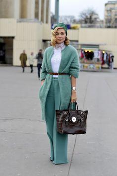 Неделя высокой моды в Париже: street style. День 3 (фото 8)