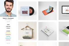 Freelancer Portfolio Template by CrazyThemes on @creativemarket