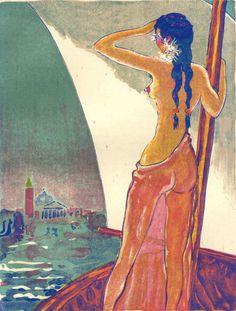 Mille Nuits et une Nuit Kees van Dongen Rose by CarambasVintage, SOLD Henri Matisse, Henri Rousseau, Modern Artists, French Artists, Great Artists, Georges Braque, Xi Pan, André Derain, Dutch Painters