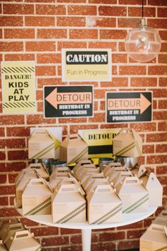 cute construction party ideas (september 2013 post)