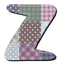 Buchstabe / Letter - Z (Patchwork / Quilt)