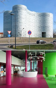 The Cottbus University Library, Germany. Design by Herzog & DeMeuron.