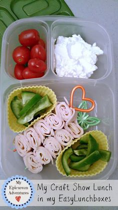 My Epicurean Adventures: My Craft Show Lunch #Easylunchboxes