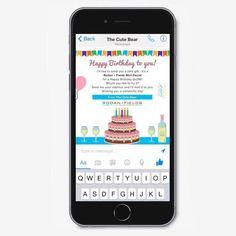 Custom Email or Facebook Messenger Happy Birthday #rodanandfields Graphic