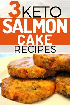 If you're on the lookout for easy keto salmon cake recipes, don't look any further! These are three of the best and simplest ways to enjoy your favorite fish meal! #keto #ketogenic #ketodiet #ketorecipes #ketogenicdiet #growtheideas