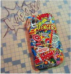 How to: Comic Book Phone Cover - MMGN Blogs